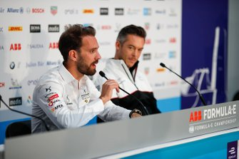 Jean-Eric Vergne, DS Techeetah, Andre Lotterer, Porsche in the press conference