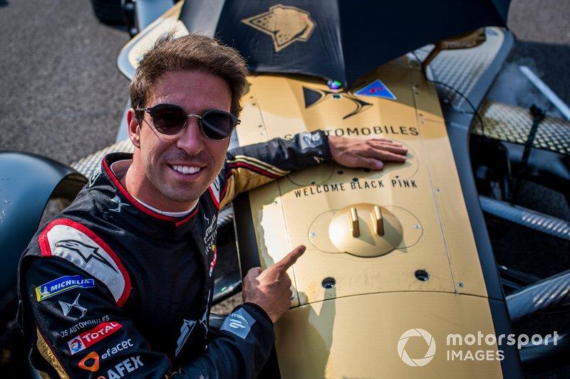 Antonio Felix da Costa, DS Techeetah on the grid