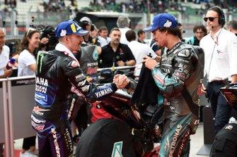 Maverick Vinales, Yamaha Factory Racing, Franco Morbidelli, Petronas Yamaha SRT