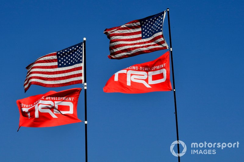 TRD Flags
