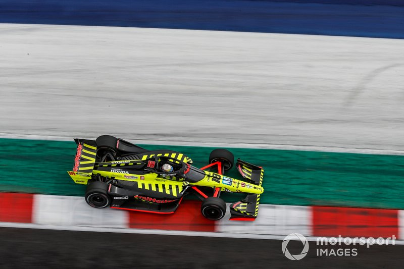 Santino Ferrucci, Dale Coyne Racing with Vasser Sullivan