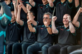 James Barclay, Director de Equipo, Panasonic Jaguar Racing, Craig Wilson, Director de Carrera, Panasonic Jaguar Racing