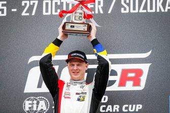Podio: Ganador de la carrera Johan Kristoffersson, SLR Volkswagen Volkswagen Golf GTI TCR