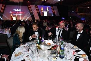 Guests at their tables including Max Chilton