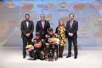 Isidre Esteve, Txema Villalobos y Repsol Rally Team