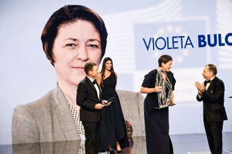 Violeta Bulc with Jean Todt, President, FIA