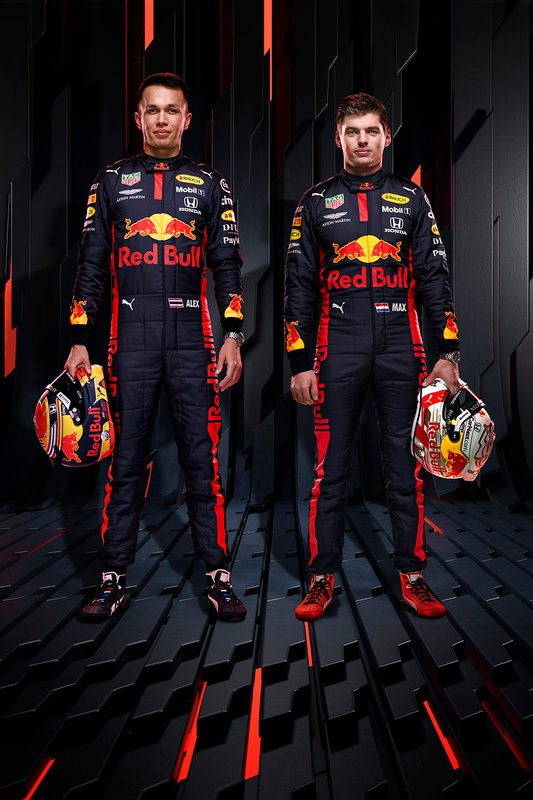 Alexander Albon, Red Bull Racing, Max Verstappen, Red Bull Racing