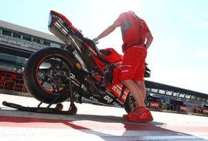 Bike of Danilo Petrucci, Ducati Team