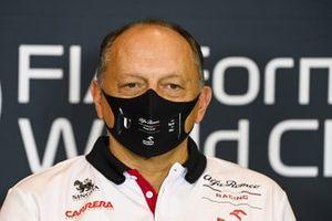 Frederic Vasseur, Team Principal, Alfa Romeo Racing, in a Press Conference