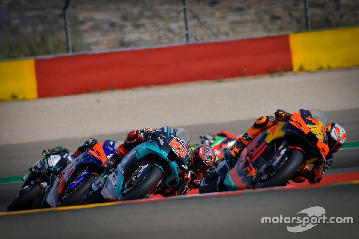 Pol Espargaro, Red Bull KTM Factory Racing, Fabio Quartararo, Petronas Yamaha SRT, Miguel Oliveira, Red Bull KTM Tech 3