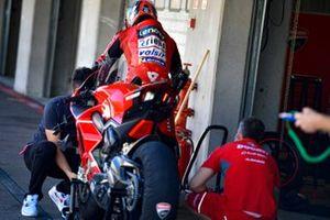 L'équipe officielle Ducati