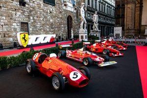 Ferrari vintage F1 cars