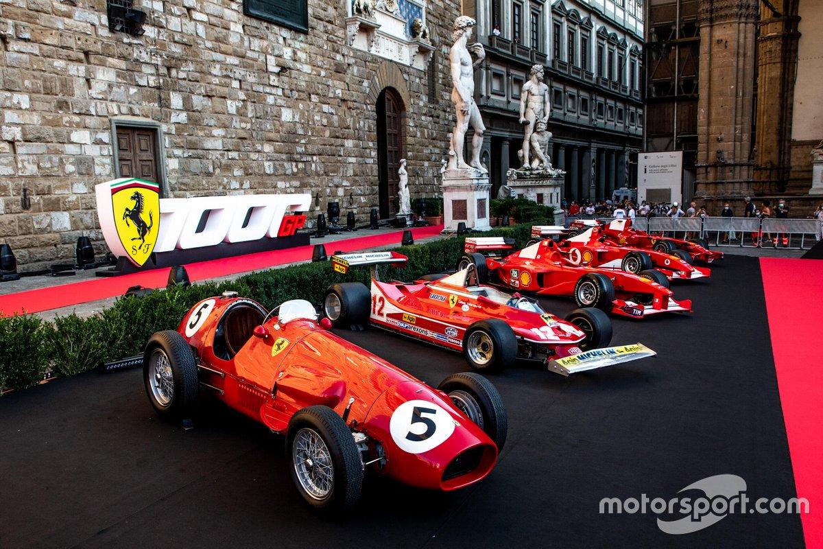 Coches antiguos de Ferrari F1