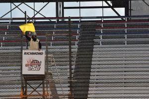 Xfinty Yellow flag Richmond International Raceway