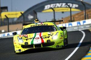 #70 Mr Racing Ferrari 488 GTE Evo: Takeshi Kimura, Vincent Abril, Kei Cozzolino