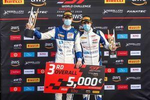 3. #26 Sainteloc Racing Audi R8 LMS GT3: Steven Palette, Simon Gachet