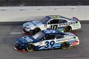 Ryan Sieg, RSS Racing, Chevrolet Camaro CMRRoofing.com Ross Chastain, Kaulig Racing, Chevrolet Camaro Dyna-Gro Seed