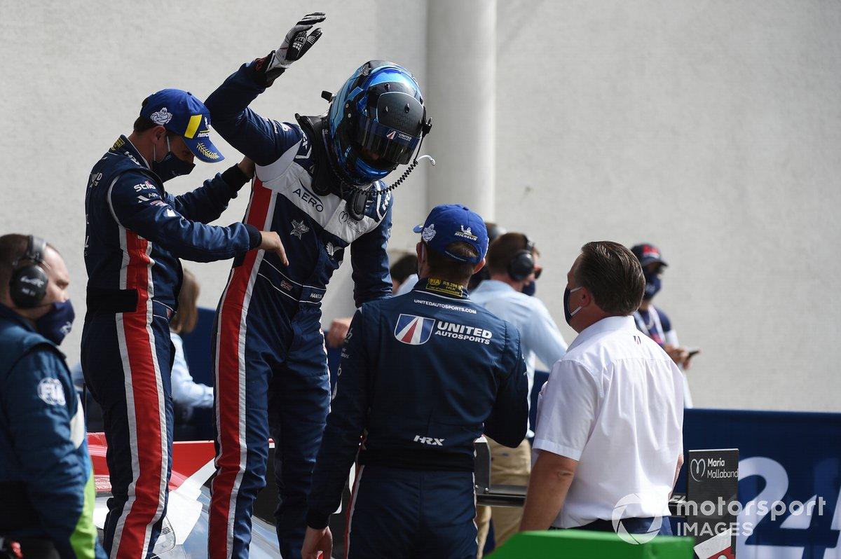Ganadores LMP2 #22 United Autosports Oreca 07 - Gibson: Philip Hanson, Filipe Albuquerque, Paul Di Resta