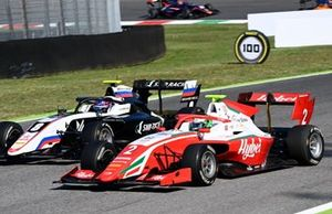 Alexander Smolyar, ART Grand Prix battles with Frederik Vesti, Prema Racing