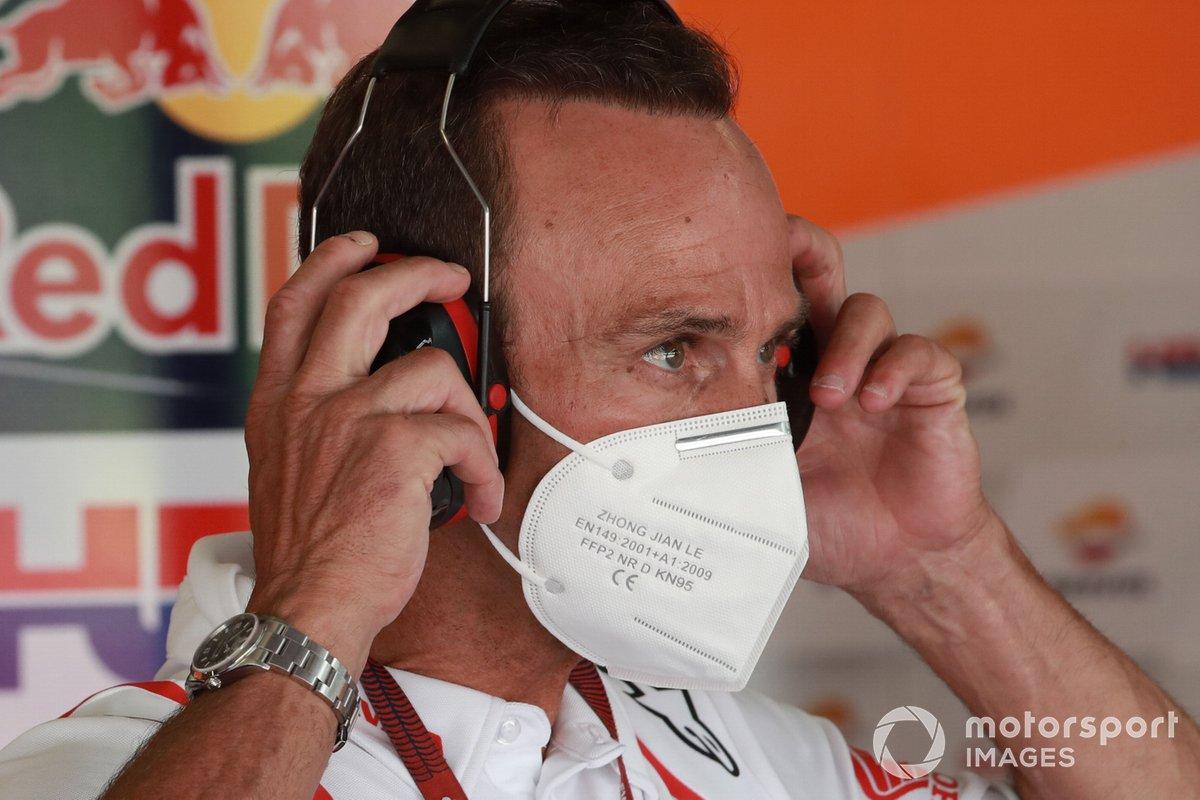 Alberto Puig, director del equipo Repsol Honda