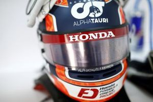 Yuki Tsunoda, Honda Formula Dream Projects racing helmet