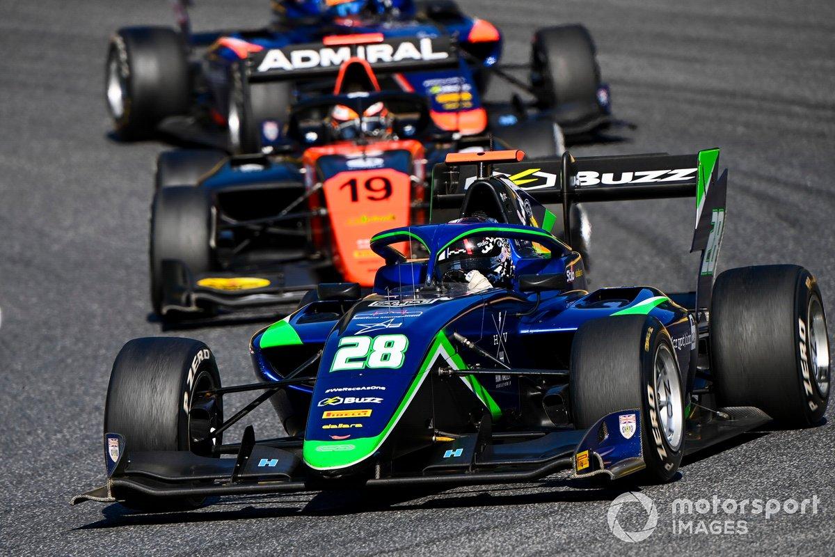 Cameron Das, Carlin BUZZ RACING, Lukas Dunner, MP Motorsport
