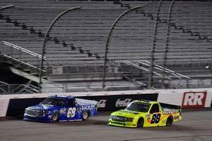 Clay Greenfield, Clay Greenfield Motorsports, Toyota Tundra Matt Crafton, ThorSport Racing, Ford F-150 Ideal Door/Menards