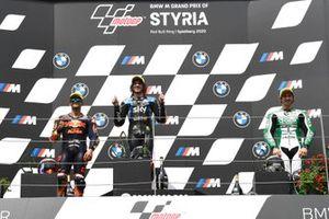 Jorge Martin, Red Bull KTM Ajo, Marco Bezzecchi, Sky Racing Team VR46, Remy Gardner, SAG Racing Team