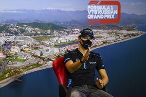 George Russell, Williams Racing en la conferenci de prensa
