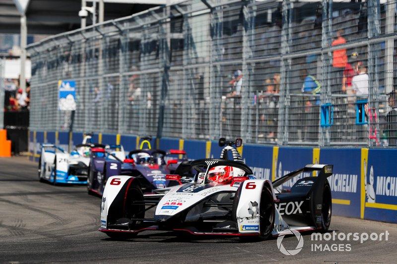 Maximillian Gunther, GEOX Dragon Racing, Penske EV-3 Sam Bird, Envision Virgin Racing, Audi e-tron FE05, Antonio Felix da Costa, BMW I Andretti Motorsports, BMW iFE.18