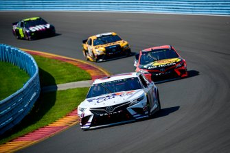 Denny Hamlin, Joe Gibbs Racing, Toyota Camry FedEx Cares, Martin Truex Jr., Joe Gibbs Racing, Toyota Camry Bass Pro Shops, Erik Jones, Joe Gibbs Racing, Toyota Camry DeWalt