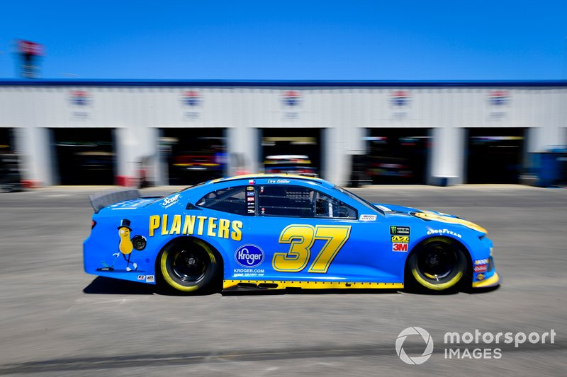 Chris Buescher, JTG Daugherty Racing, Chevrolet Camaro Planters