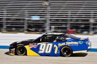 Ronnie Bassett Jr., DGM Racing, Chevrolet Camaro Down Syndrome Awareness