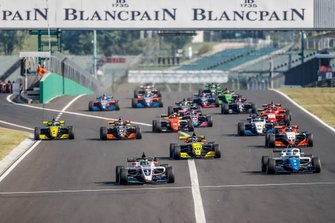 Partenza di gara 2 all'Hungaroring