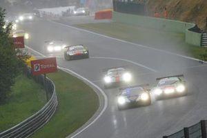 #72 SMP Racing Ferrari 488 GT3: Miguel Molina, Mikhail Aleshin, Davide Rigon, #1 Audi Sport Team WRT Audi R8 LMS GT3 2019: Robin Frijns, Nico Müller, René Rast