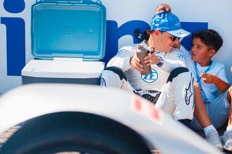 Felipe Massa, Venturi Formula E on the grid with son, Felipinho