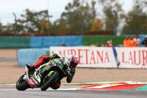Crash of Leon Haslam, Kawasaki Racing Team
