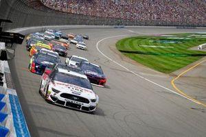 Renn-Action auf dem Michigan International Speedway
