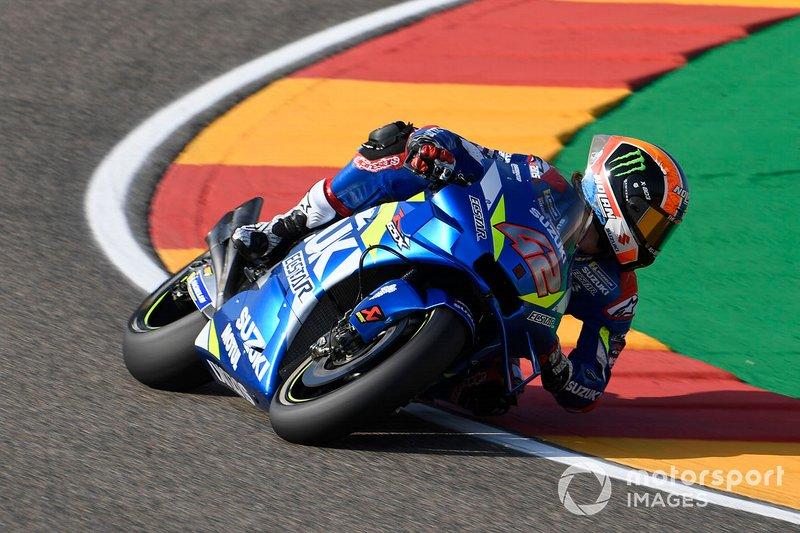 12º Alex Rins, Team Suzuki MotoGP