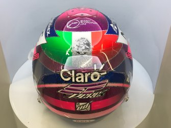 Nouveau casque de Sergio Perez, Racing Point