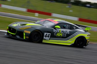 #44 Invictus Games Racing Jaguar F-TYPE SVR GT4: Steve McCulley/Paul Vice, Matthew George