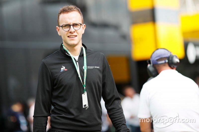 En 2018, Huber se proclamó campeón de la GP3.