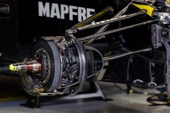 Renault F1 Team R.S.19 voorrem detail