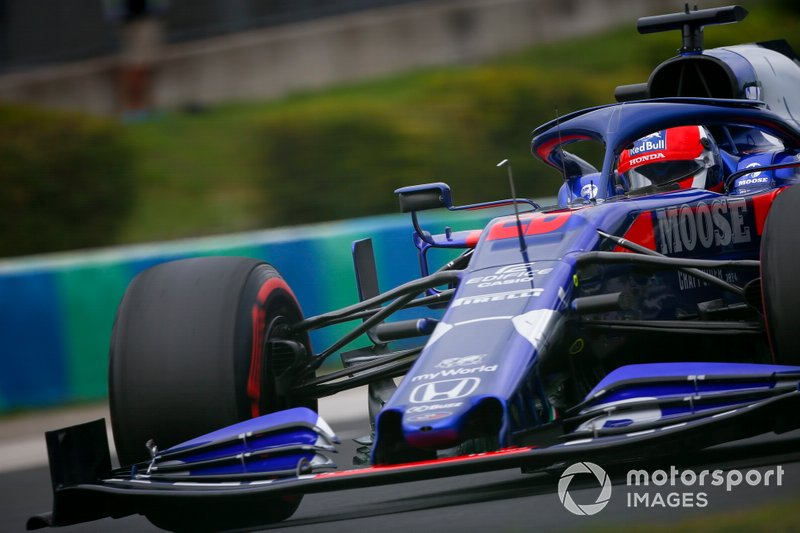 13: Daniil Kvyat, Toro Rosso, 1min16s692