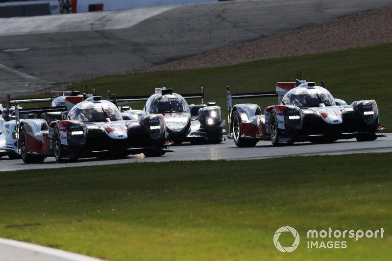 Partenza della gara di Silverstone
