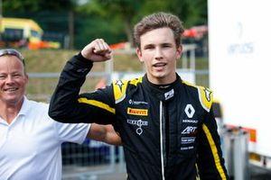 Pole sitter Christian Lundgaard, ART Grand Prix
