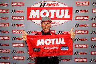 Motul Pole Award winner #33 Mercedes-AMG Team Riley Motorsports Mercedes-AMG GT3, GTD: Ben Keating