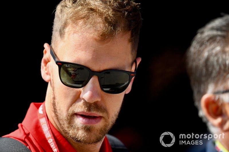 Sebastian Vettel - Ferrari: 6 puan