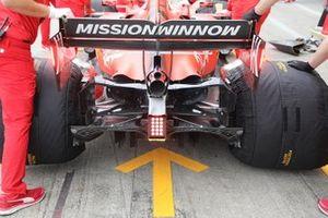 Detalle difusor Ferrari SF90
