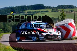 Copertina report WRC Rally di Germania